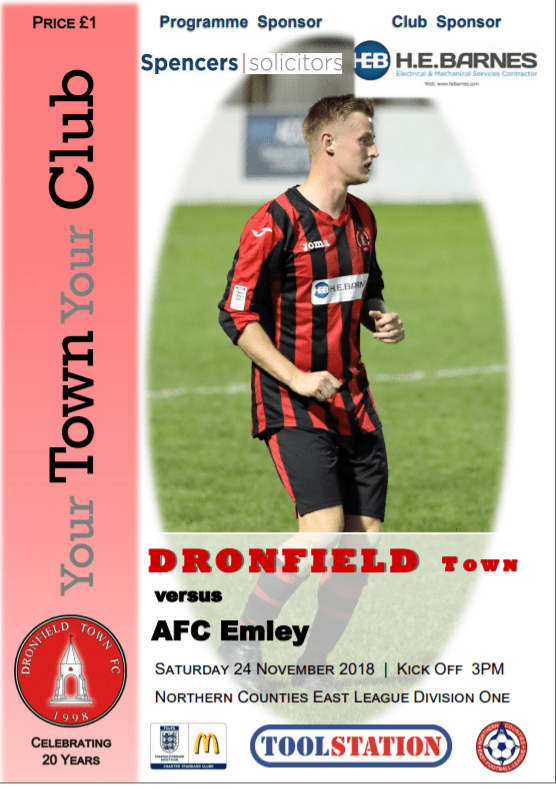 Town V AFC Emley 24.11.18