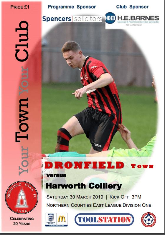 Town V Harworth 30.03.2019