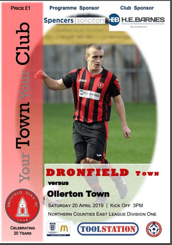 Town V Ollerton 20.4.2019