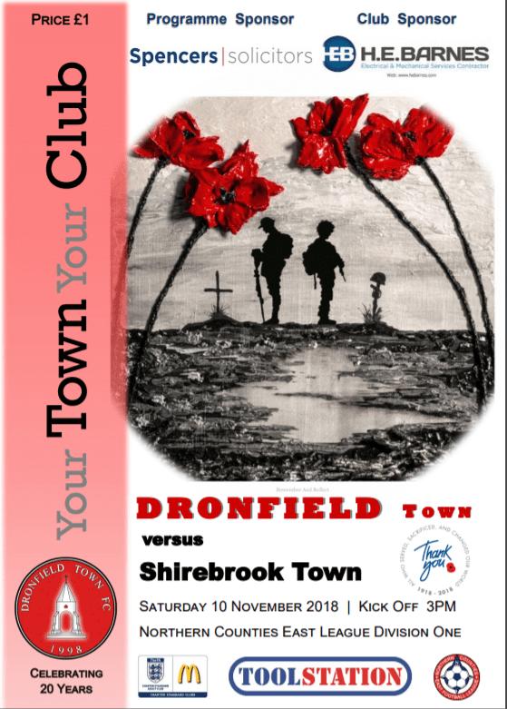 Town V Shirebrook 10th November 2018 1
