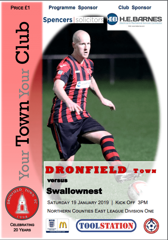 Town V Swallownest 19.1.2019