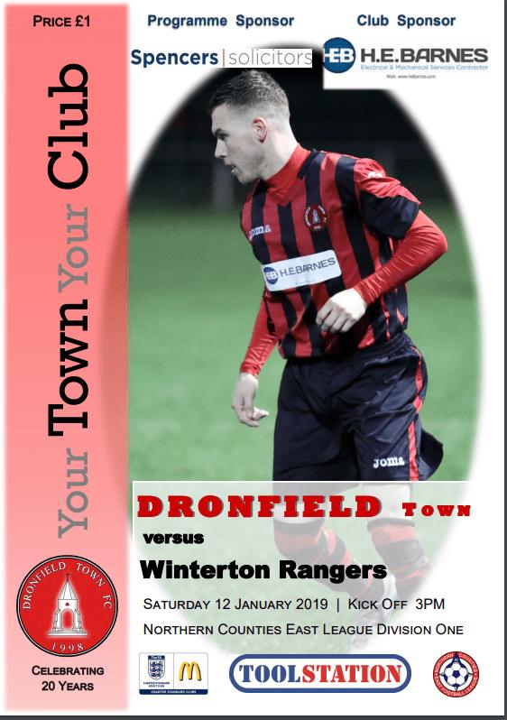Town V Winterton 12.1.2019
